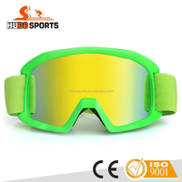 2016 newest industrial safety glasses high quality motocross goggles with tear off available HB-186