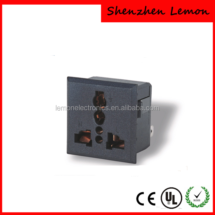 Wall mount Socket Outlet /universal AC Power Socket