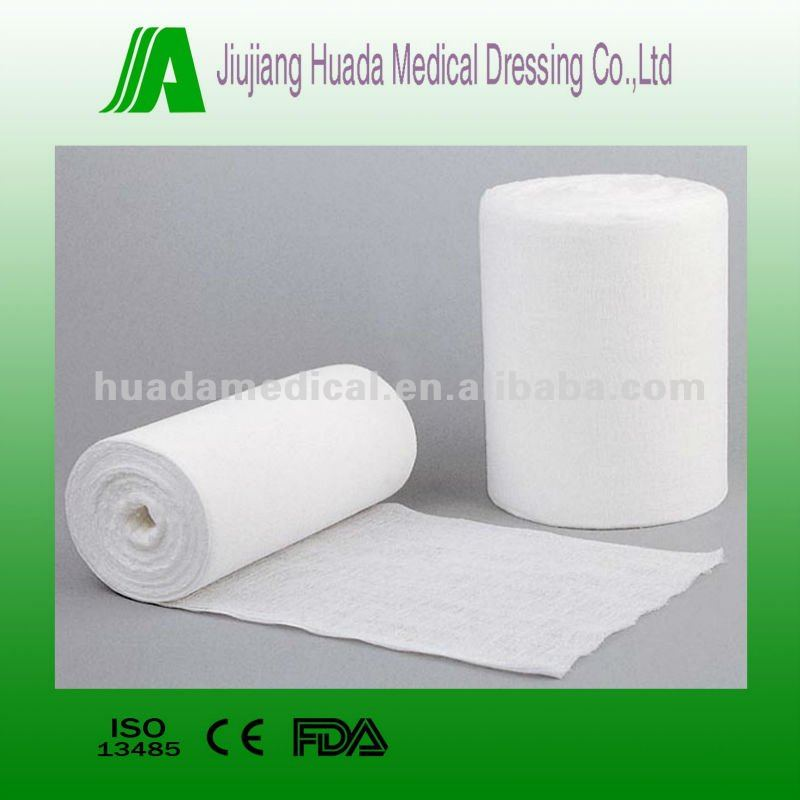 absorbent surgical tube gauze roll