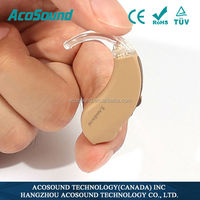 Acosound 610 BTE 6 channels digital programmable hearing device frequency 12 bands
