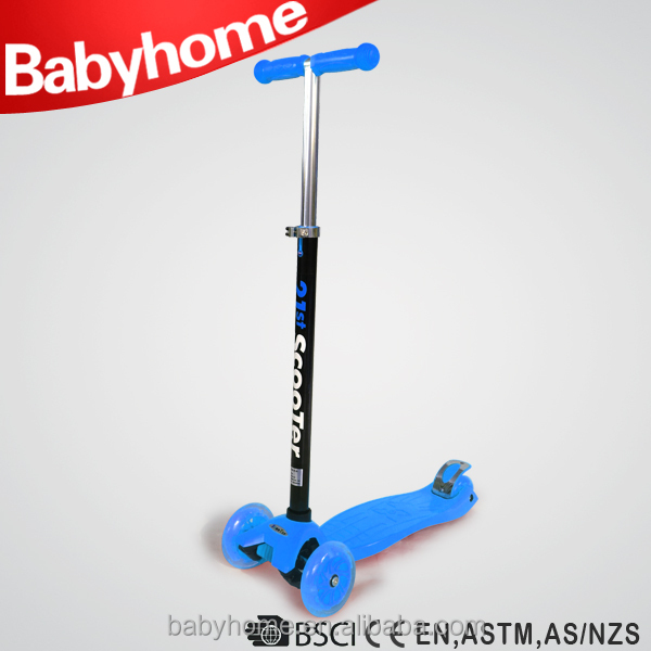 2015 cheap Aluminium frame kids plastic scooter for sale