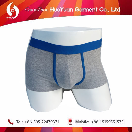 2017 China factory OEM accepted New Design Polyester Free Sample Men Underwear Boxer