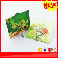 Products made in china reusable self adhesive plastic hooks