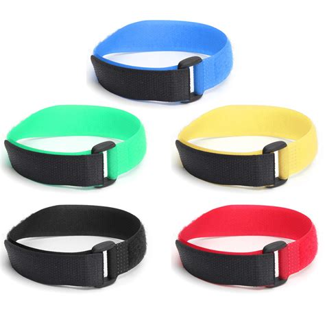 Factory Prices Colorful Reusable Magic Tape Hook And Loop Fastener Straps