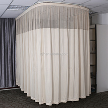 European anti bacterial fire retardant hospital curtain and medical cubicle curtain