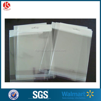 wholesale self adhesive opp cellophane bag with header
