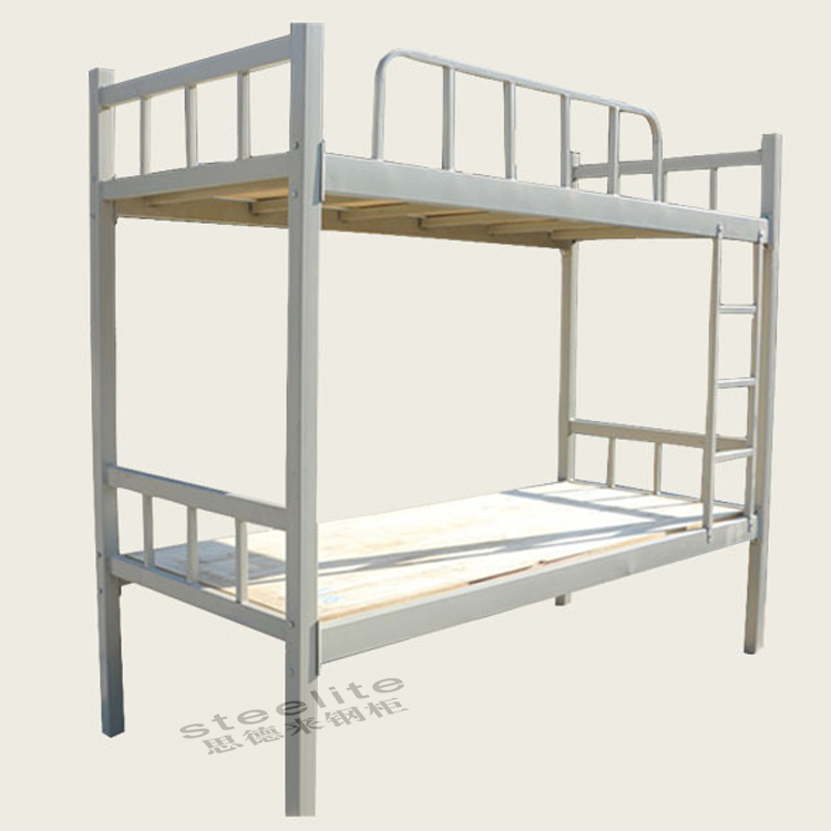cheap factory sale military dorm dubai bunk bed Iron Double Bed Design