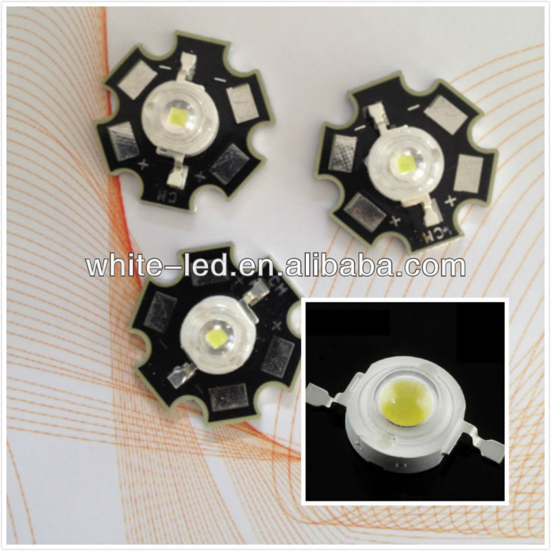 White Warmwhite Natural White 3W Chips 700ma Cree, Bridgelux, Epistar LED