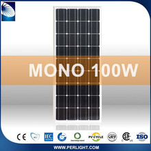 Roof Most Efficient 100W Mono Solar Panel Pv Module Price