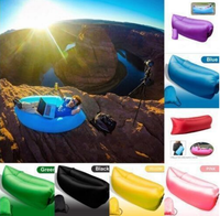 AN585 Beach Lounger Inflatable Sofa Outdoor Nylon Air Filled Balloon Furniture With Carry Bag,Lazy Sleeping Bed
