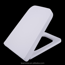 Soft close function One button wc sitz Rectangular toilet seat cover High gloss finish toilet seat