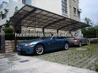 All aluminium solid polycarbonate awning outdoor gazebo carports