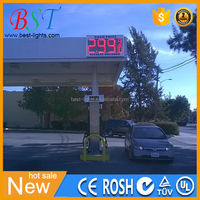 Traffic lamps big PCB LED boards large 7 segment display for gas stations