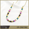 Factory Wholesale Fashion Jewelry Colorful Chain Necklace For Autumn And Winter