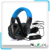 Multi-Platform Wired Headphone W/ In-line Amplifier Independent Volume Controls For PS3/PS4/XBOX360/PC/Mac/Mobile Phones/Tab.
