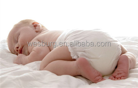 Nice disposable baby diaper with factory price for lovely baby