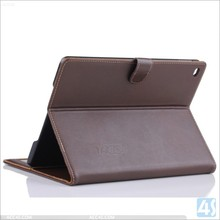 Alibaba New Real Leather Folio Case For Apple iPad Air 2