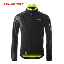 Long sleeve waterproof breathable cycling rain jacket for bicycle