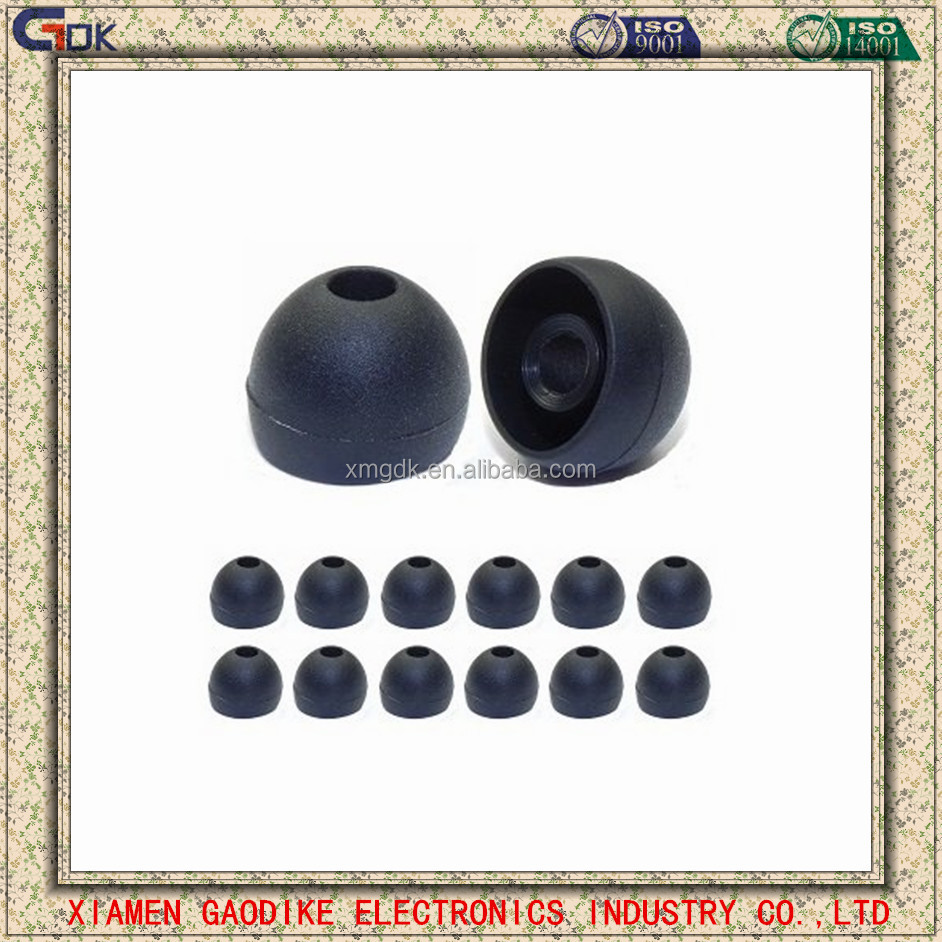 Earphone Replacement Part Silicone Headphone Earbud Tips Covers Cases Sets Fit Multitude Types