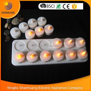 12pcs/set rechargeable led tea light candles tealight candle Rechargeable led candle