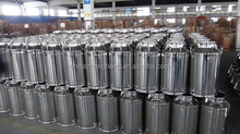 stainless steel transportation tank/drum/bucket/can of different sizes