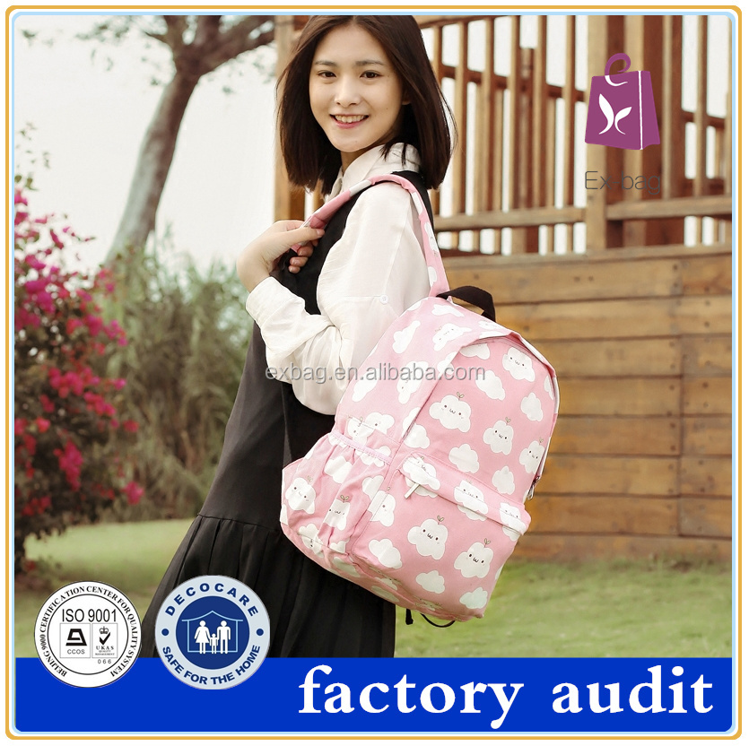 2016 HOT No MOQ factory price high quality school bags