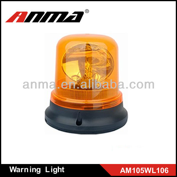 Rotating beacon super bright H1 bulb rechargeable warning light