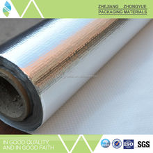 As per customer's requests Aluminum Foil Woven Fabric Cold Insulation