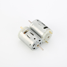 380 most powerful 12 volt dc brush motor carbon permanent magnet dc motor