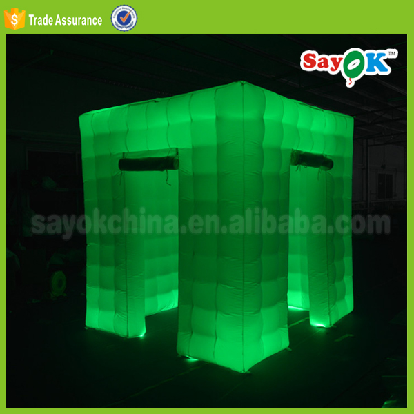 China inflatable sale cube photo booth tent photobooth portable for sale