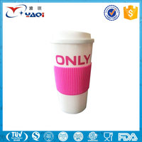 2016 Promotional Gifts Reusable Coffee Cup/Travel Custom Plastic Coffee Mug/Disposable PP Plastic Tea Cup