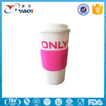 2017 Promotional Gifts Reusable Coffee Cup/Travel Custom Plastic Coffee Mug/Disposable PP Plastic Tea Cup