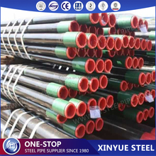 Api spec 5CT N80 oil casing seamless steel pipe oil drilling tubing pipe, oil well steel pipe