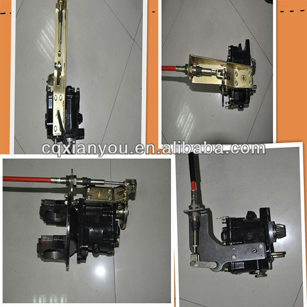 two Gearing shift Gearbox of tricycle with GA plate