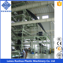 2 layer 5m hdpe film blowing geomembrane extrusion line