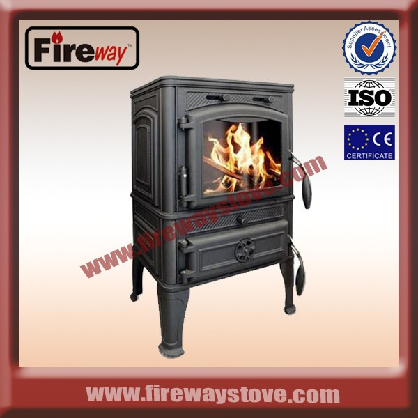 Modern fashion indoor wood stove