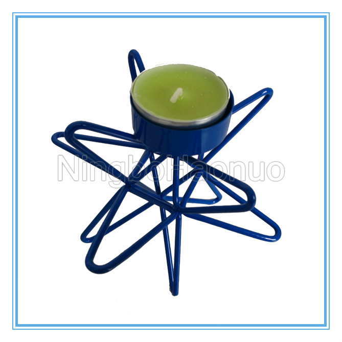 Wholesale Metal Star Shape Tealight Candle Holder