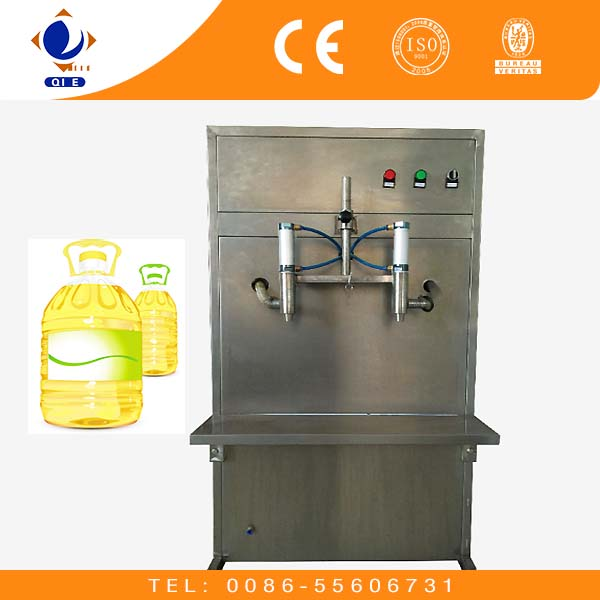 AS025 low price liquid oil bottle filling machine