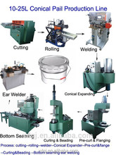5-20 Liter production line to produce paint tin can making machine