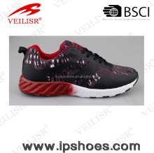 Printing EVA Outsole New Women Sport Shoes, High Quality Offset Printing Sports Shoes for Women 2017