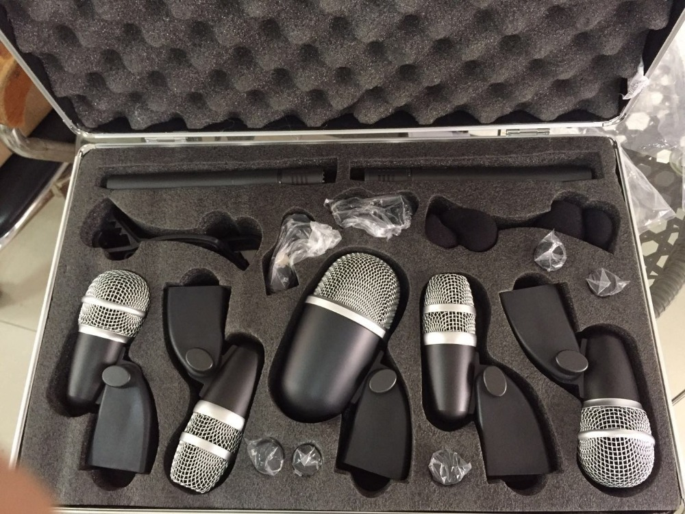 Hot sale drum microphones set for studio