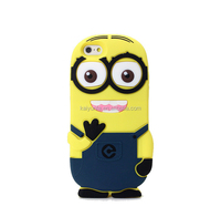 Despicable Me 2 Minion Case, 3D One / Two Eye Cover, Soft Silicone Protective Skin for Various phone