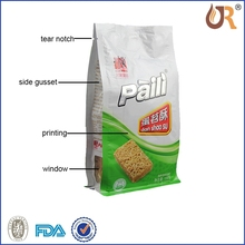 Best high density polyethylene with good quality cheap printed die cut plasticbag