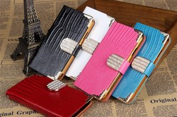 Cell phone accessories,Leather flip case for samsung galaxy note 2,note 2 leather case high quality