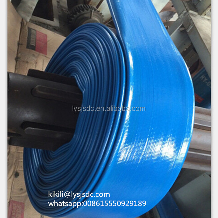 lay flat spray hose/lay flat irrigation hose/ pvc lay flat hose