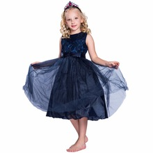 Kids Party Wear One Piece Evening Kids Girls Floor Length Dresses Girl Birthday Party Dresses