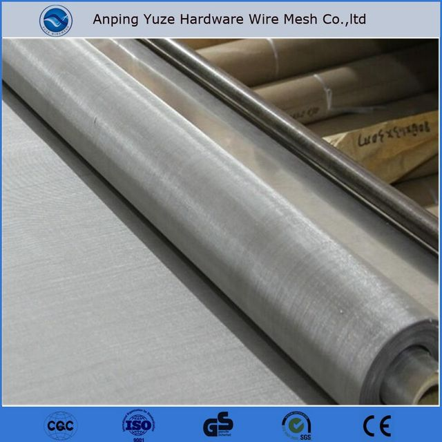 SUS ASTM 316 316l 40 micron filter mesh stainless steel woven wire mesh for food industry