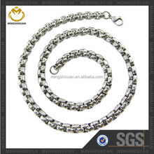 Customized design fashion jewelry best selling 316 stainless steel chain