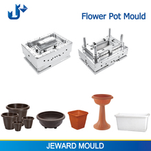 Qualified plastic injection mould supplier in china including flower pot mold making with cnc machine