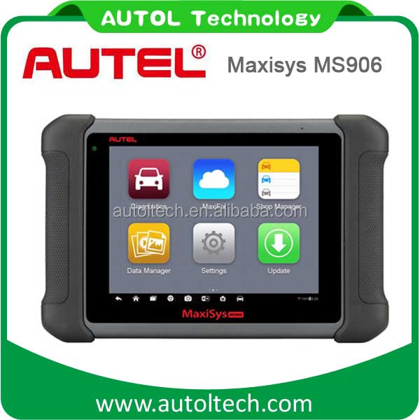 Original AUTEL MaxiSYS MS906 Automotive Diagnostic Scanner with Cable connect to car